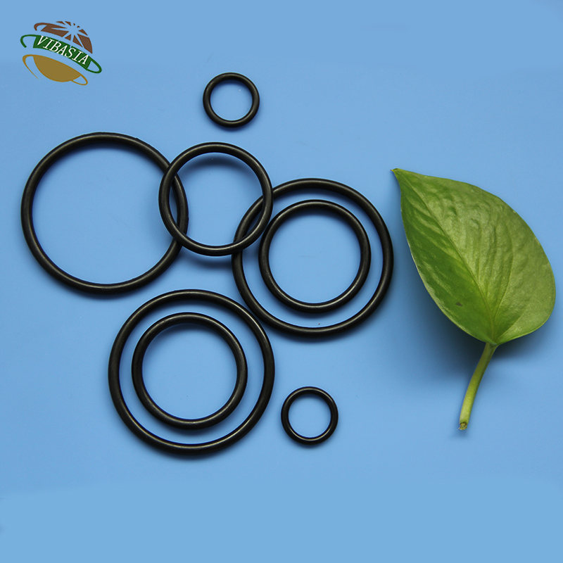 Silicone Rubber Ring NBR O Ring Seals Rubber O Rings With High Strength