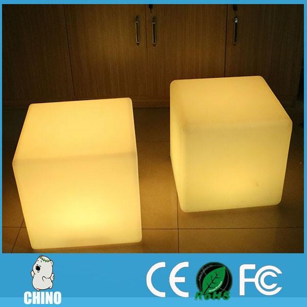 60cm Square Nightclub Light Up Led Cube Table Led Table