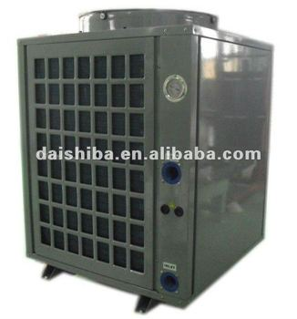 Air heat pump swimming pool heating and cooling system - Swimming pool heat pump installation ...
