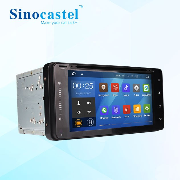 In Car Entertainment quad core system car radio gps navigation for <strong>Toyota</strong> <strong>universal</strong> 2 din <strong>android</strong>