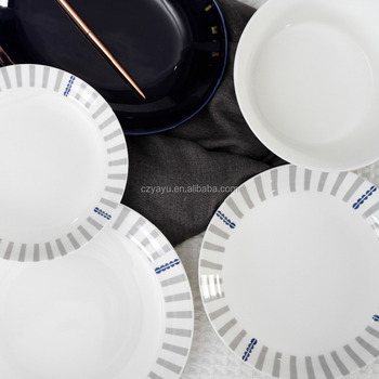 Restaurant flatware 8 inch used deep dish dinner plates / china printing plate : deep dish dinner plates - pezcame.com