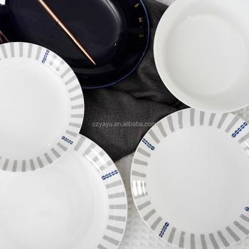 Restaurant flatware 8 inch used deep dish dinner plates / china printing plate & Restaurant Flatware 8 Inch Used Deep Dish Dinner Plates / China ...