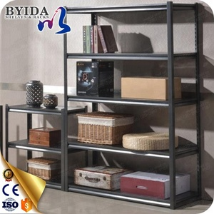 Easy Assemble Iron Slotted Angle Shelving style