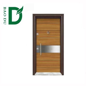 factory turkish doors bullet proof steel wood armored door