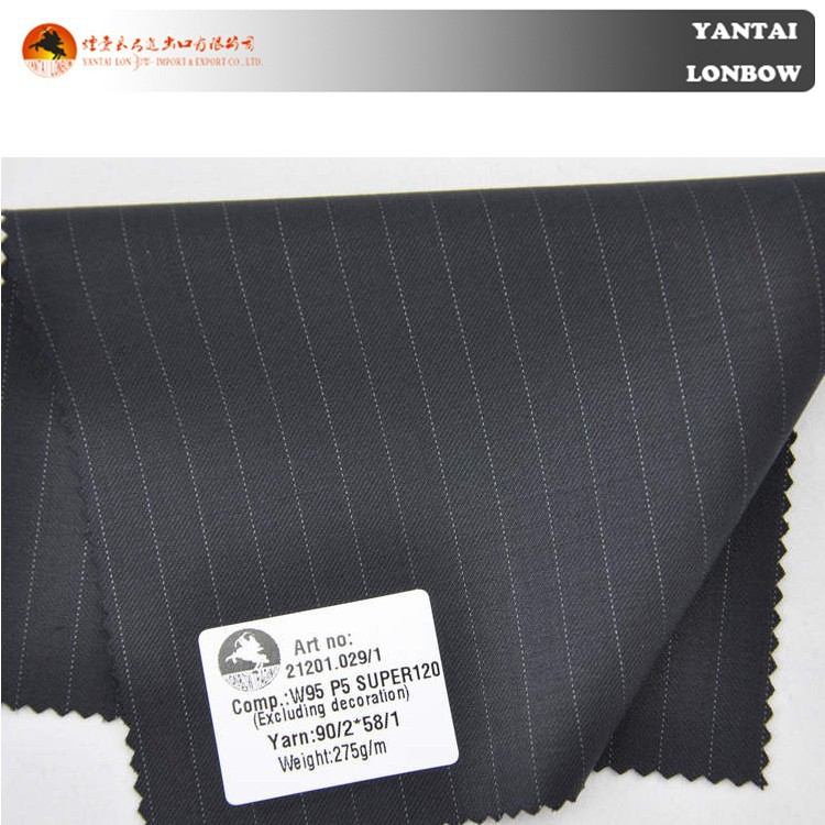 Italian cashmere 100% wool suit fabric price for business men's suit