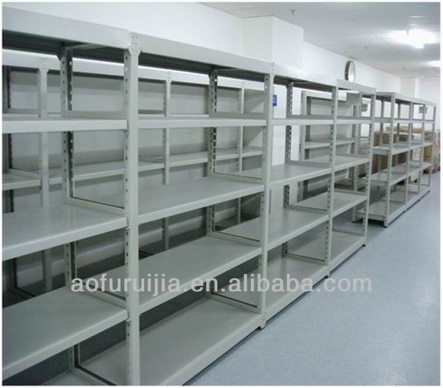 Steel/Stainless Steel/Iron/Aluminum Light Duty Slotted Angle Shelf