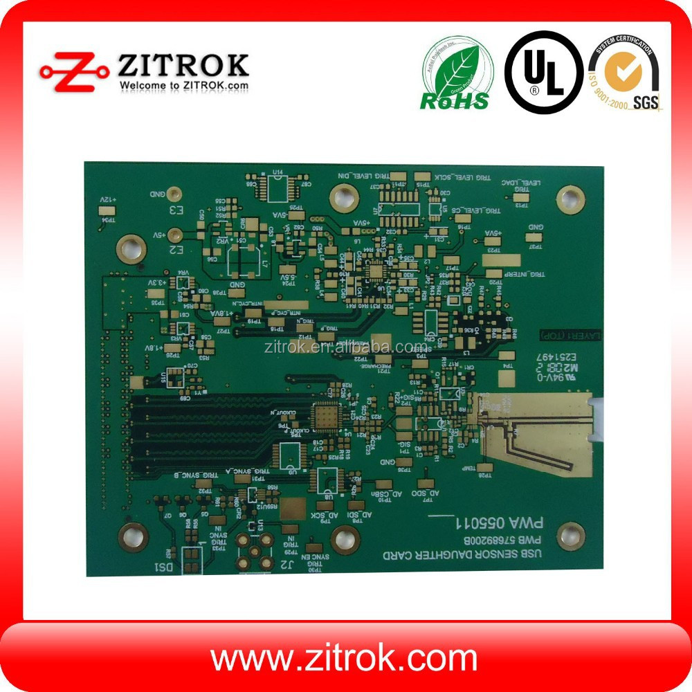 vamo v3 printed circuit board, 94v0 PCB with quickturn delivery