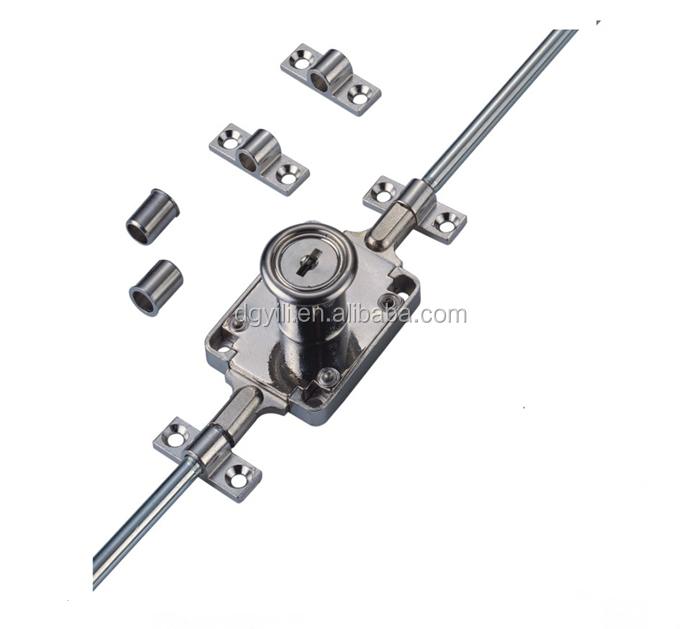 Extending Bar Lock/extending Cabinet Lock Rod Lock Wardrobe Lock ...