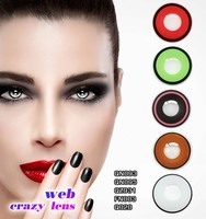 korea circle lens sclera cat eyes crazy contact lenses