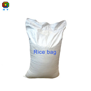 Woven rice bag size agriculture recyclable high quality 25kg