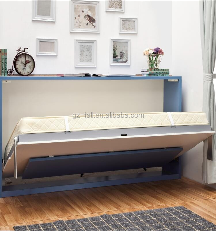 Murphy Bed Comfortable To Sleep On : Comfortable murphy wall bed mechanism with office table