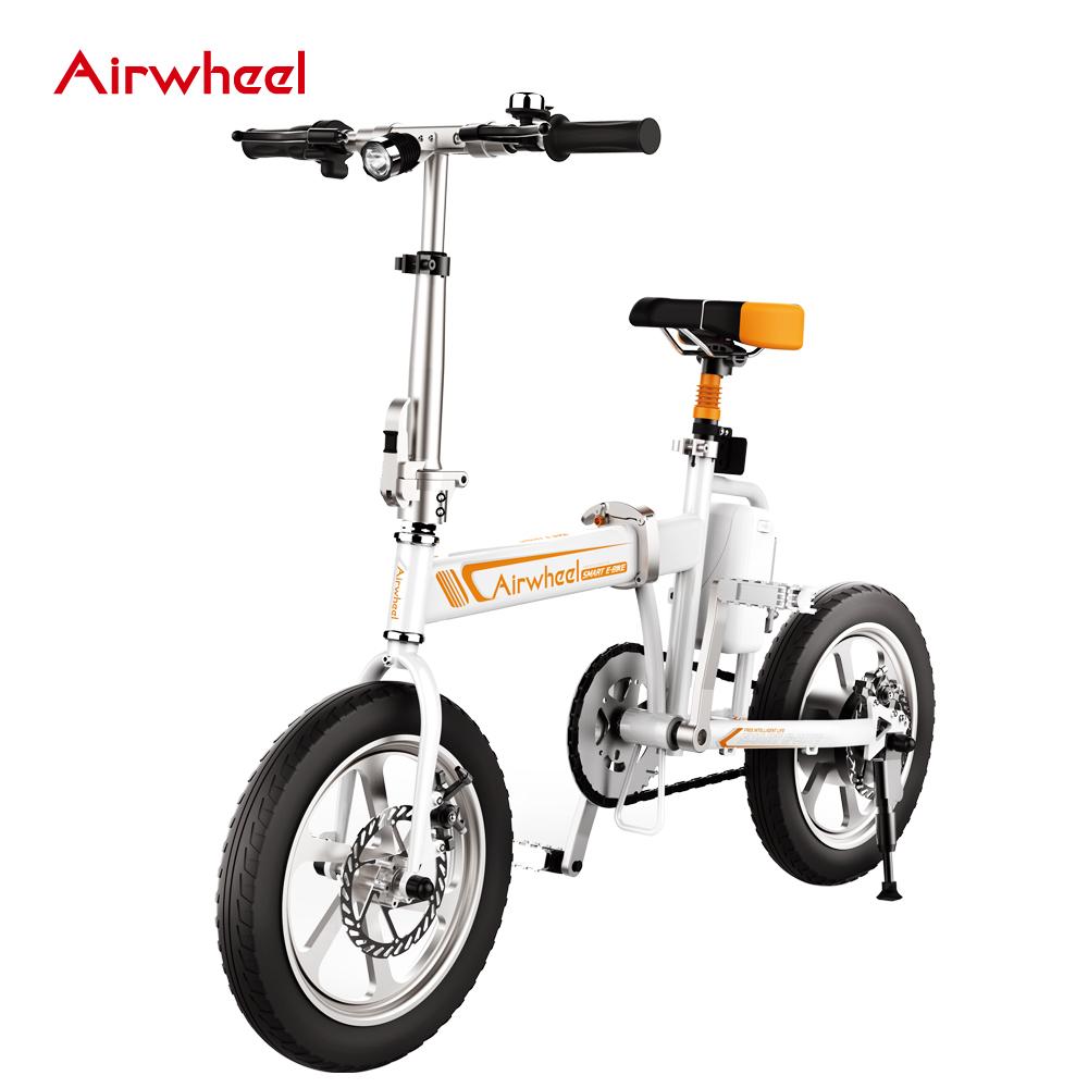 b40fed1af51 Airwheel R5 mini folding electric bike with high quality, View electric bike,  Airwheel Product Details from Changzhou Airwheel Technology Co., ...