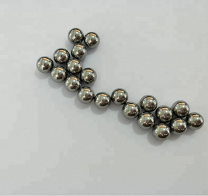 Solid metal ball different size stainless steel drilled ball for sale 17/32 9/16 5/8 11/16