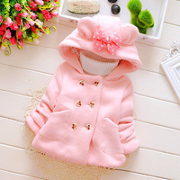 Hao Baby Autumn And Winter New Children's Wear Girls' Sweater Thickening Explosion Jacket