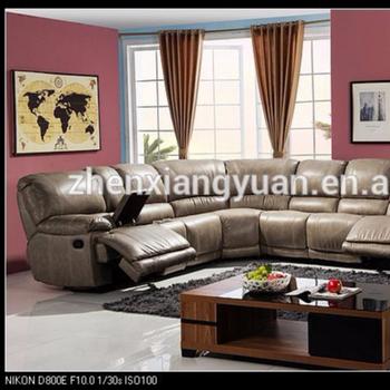 2019 Top Selling 6 Piece Air Leather Sectional Reclining Sofa Living Room  Corner Sofa Set - Buy U Shape Recliner Corner Sofa Set,Recliner Sofa Couch  ...