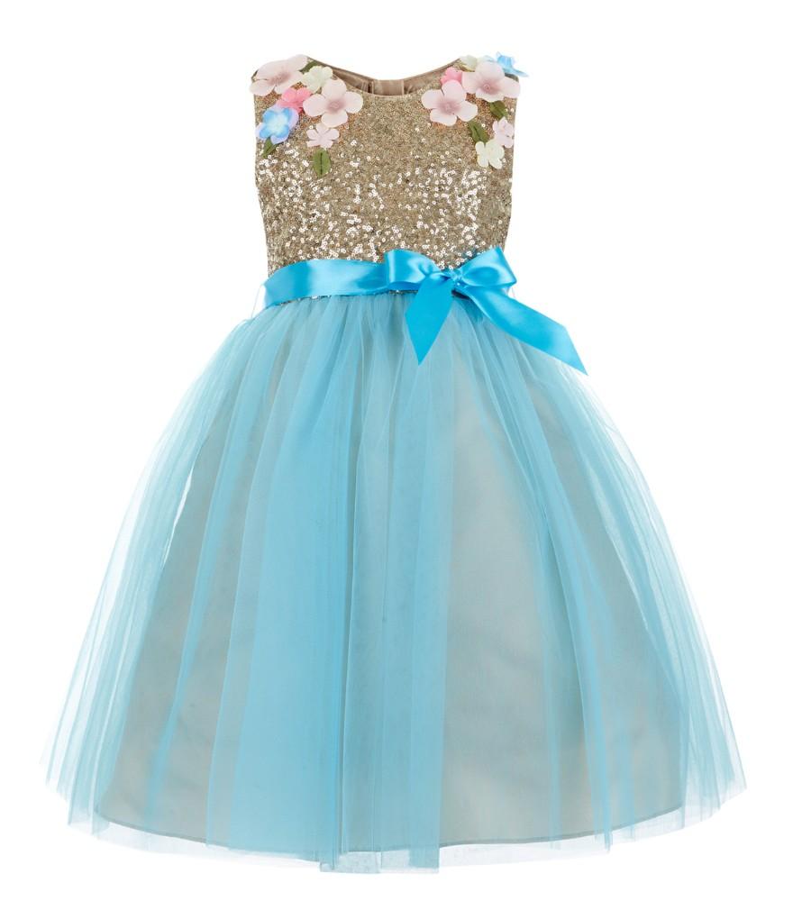 Latest Fancy Little Girls Party Dresses - Buy Girls Dresses,Girls ...