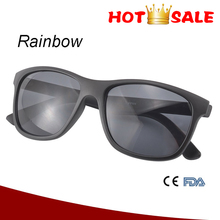 Plastic frame matt sun glasses logo printing dropshipping promotion sunglasses