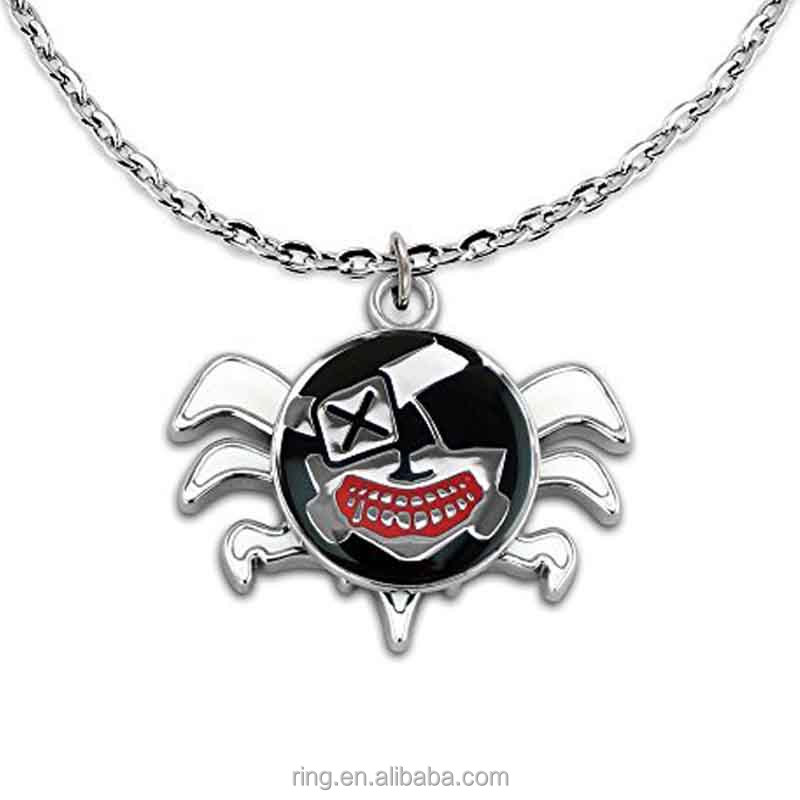 New Product Anime Tokyo Ghouls Necklace Cosplay Mask Pendant Necklace