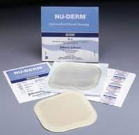 "HCB204 Dressing Nu-Derm Border Wound LF Sterile Hydrocolloid 4x4"" 10 Per Box Part No. HCB204 by- Systagenix Wound Management"