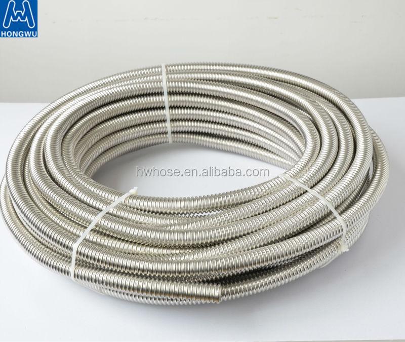 in acciaio inox ad alta temperatura del tubo flessibile