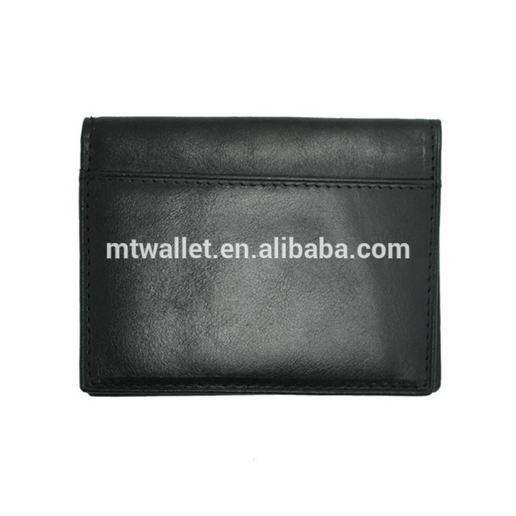 PVC Leather Wallet Men's leather Credit ID Card Holder Wallet