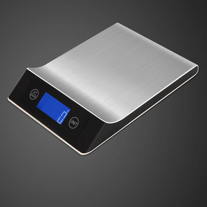 The new household durable design accuracy with LCD display stainless steel kitchen scale