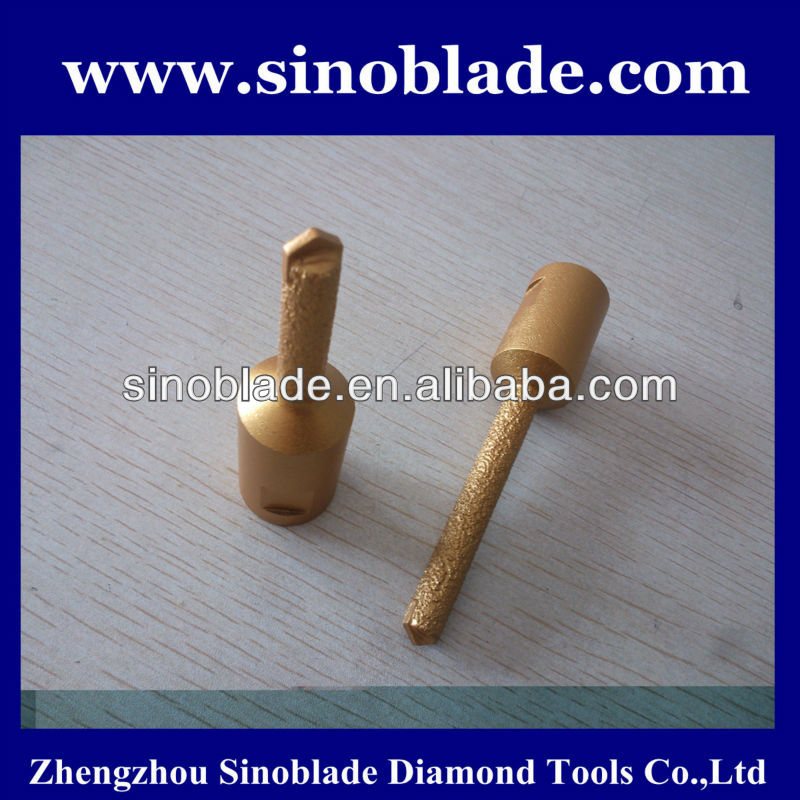Vacuum Brazed Diamond Core Drills For Bathroom Drilling