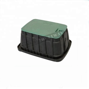 L530 plastic PP water meter box without bottom cover for irrigation
