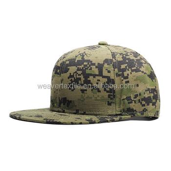 18e543e8f73 6 Panel Hat Sand Camo Snapback Hat Digital Camo Flat Bill Cap - Buy ...