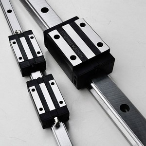 100% HIWIN HGR35 guide rail with QHH35HA and QHH35CA linear slider