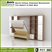 High Quality Space Saving Furniture New Wooden Box Bed Design China Suppliers