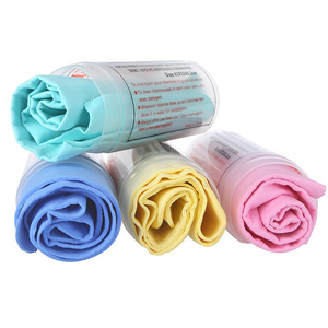 synthetic chamois cloth absorbent PVA drying car shammy cleaning towel