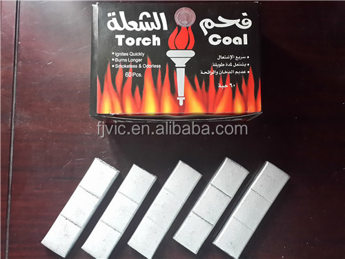 Silver Shisha Ignite Quickly Charcoal