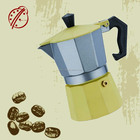 Bialetti supplier 6cups domestic home use Aluminum espresso machine/coffee maker -----CLA-6