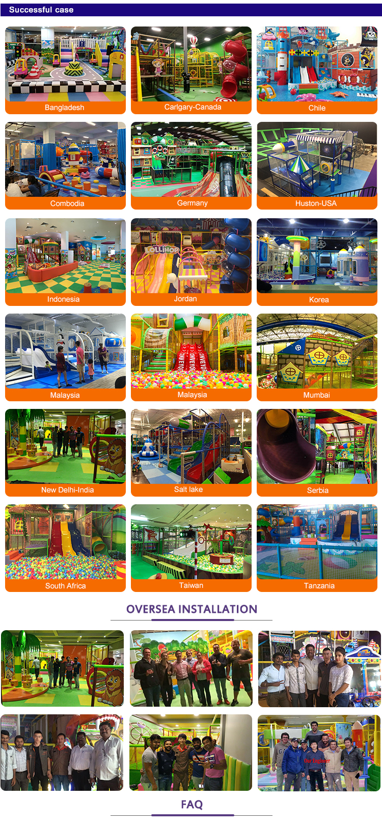 Worldstar indoor commercial equipment kids playground game center