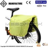 UNIVERSAL WATERPROOF RAIN COVER for double pannier bike cycle bag
