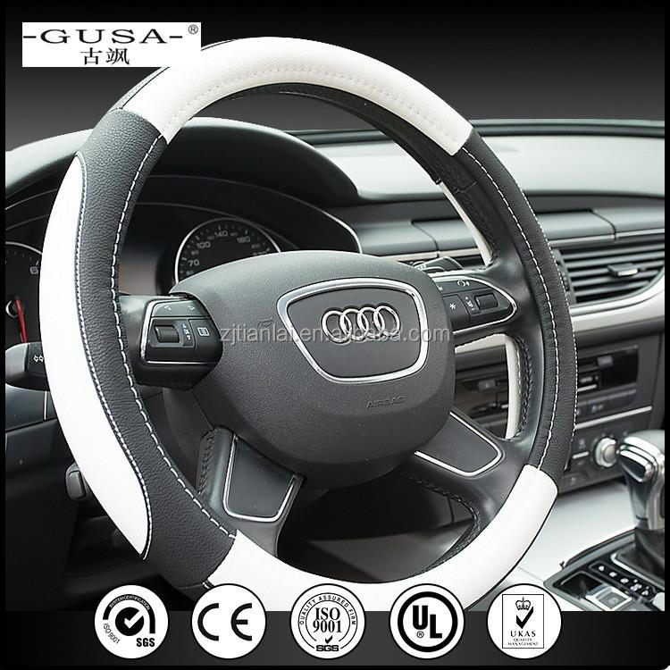 Fashion and Comfortable Heated Steering Wheel Cover With Battery for car usage
