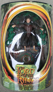 Lord of The Rings- FOTR- NIB Toy Biz Frodo Collectible Action Figure