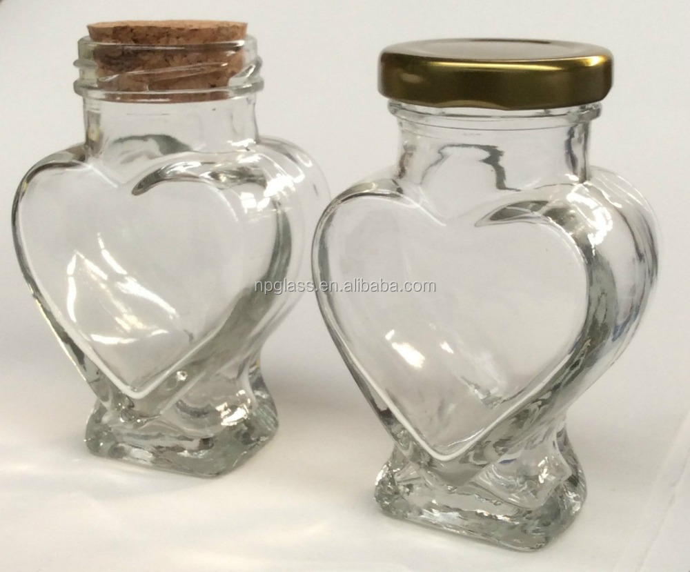 Heart Shaped Glass Jar, Heart Shaped Glass Jar Suppliers and ...