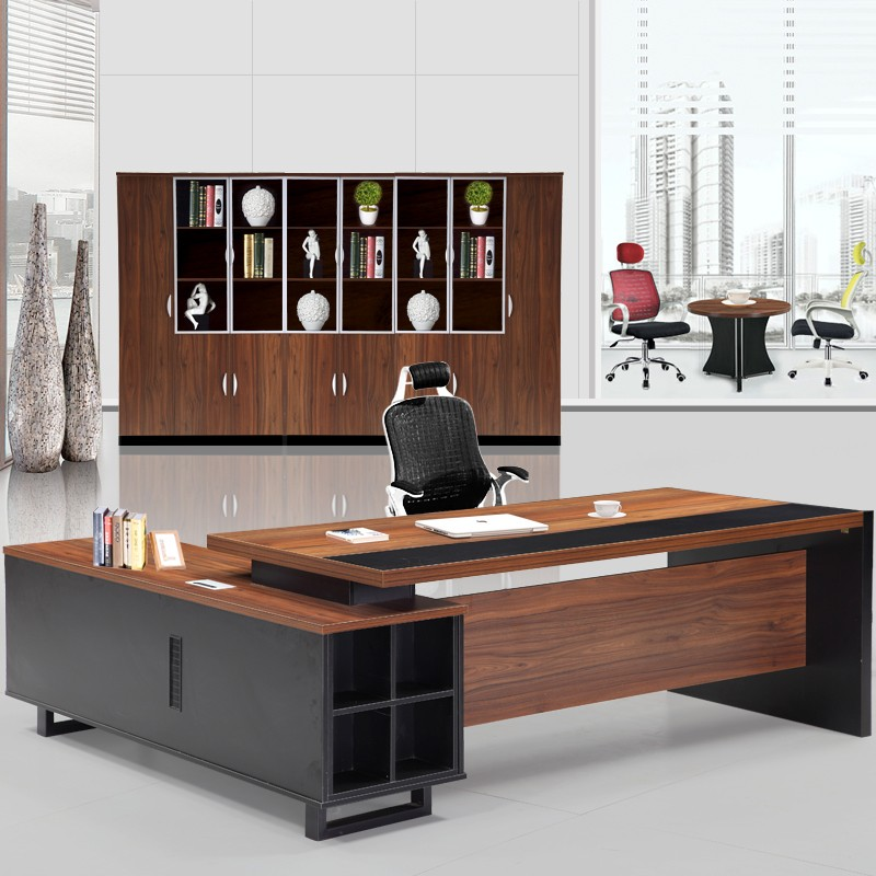 High Quality Office Desk: Professional Luxury General Manager Office Furniture High