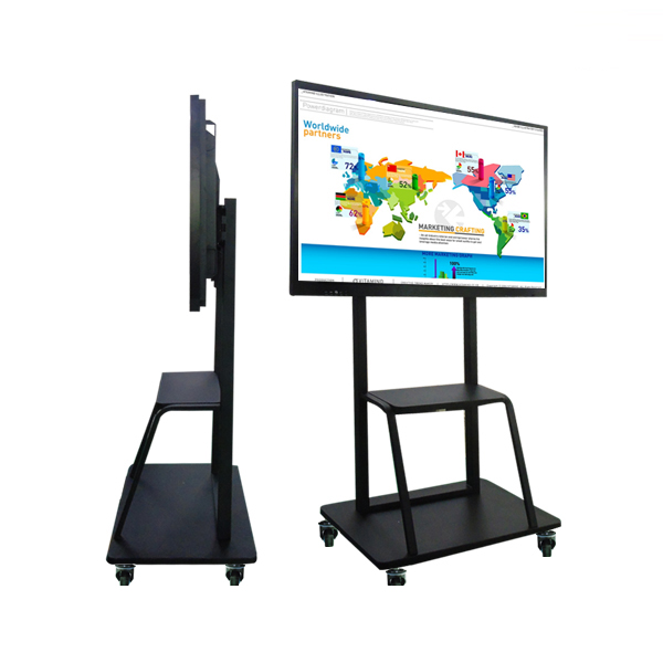 65&quot; 75&quot; 86&quot; conference meeting smart touch screen dual system <strong>all</strong> in one OPS PC interactive whiteboard for school teaching