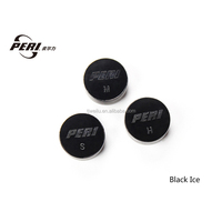 PERI Black Ice Tip for Pool Cues 8 ball 9ball 3 hardness H M S