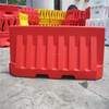 Factory wholesale 2m plastic road safety barrier road block barriers