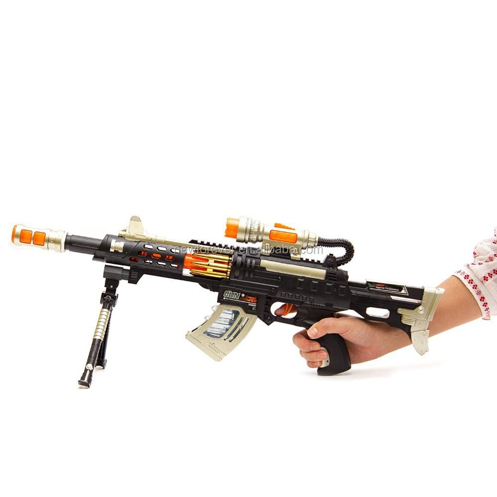 Hundred Power Led Toy Gun,Machine Blaster With Knife Light ...