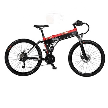 48v 10Ah adult lithium battery suspension frame   mountain  electric bike