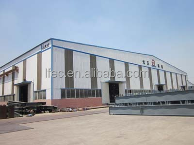 easy quick assemble prefabricated china metal storage sheds warehouse
