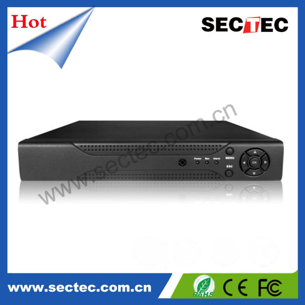 High quality cheap 1080P Support DVD 16 channel h.246 network dvr