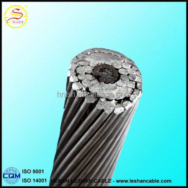 Overhead bare conductor Finch ACSR cable Aluminum conductor steel reinforced