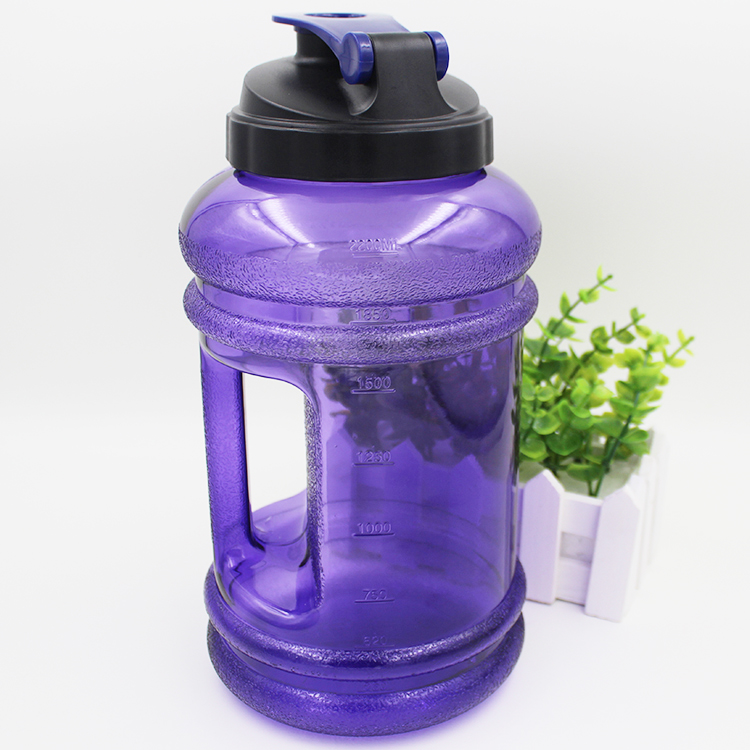 Cool Measuring BPA Free Collapsible 2.2L Plastic Sport Water Jug