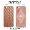 Hard plastic wood design cell phone cover custom printing for iPhone 6 case for iPhone SE clear iphone case